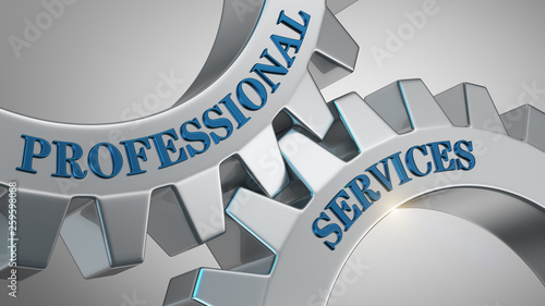 Professional services concept © md3d