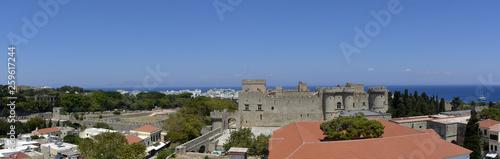 Rhodes city, Rhodes island © huspi