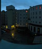 Fototapeta City - Dziedziniec o świcie © Jan Danek