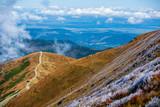 Fototapeta Fototapety z naturą - rocky mountain tops in slovakia in autumn © Martins Vanags