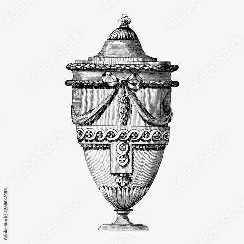 Vintage urn illustration © Rawpixel.com