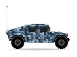 Marynarka kamuflażowa US Army Jeep