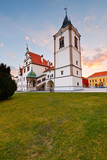 Old town hall in the main square of UNESCO listed medieval town of Levoca in eastern Slovakia.