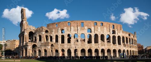 fototapeta na ścianę panoramica del colosseo
