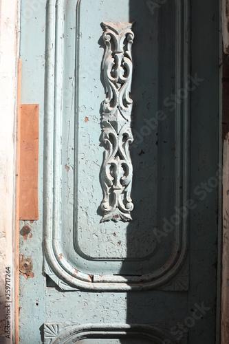Porte typique de La Havane