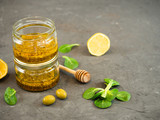 salad dressing with mustard and honey