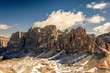 Quadro Fanes Group Mountains in Dolomites