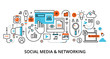 Concept of social media and social networking - 259770285