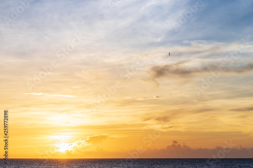fototapeta na ścianę ciel et soleil