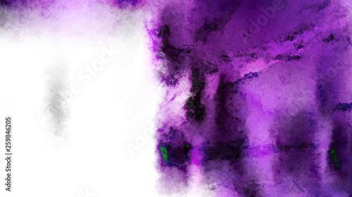 fototapeta na ścianę Purple Black and White Watercolor Background Image