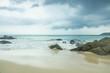Quadro blue wave on beach of Phuket Thailand