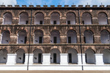 Side view of one of the wings in the Port Blair Cellular Jail,