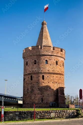 canvas print picture Turm der sieben Mäntel in Szczecin, Polen