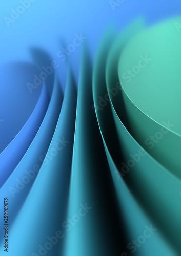 Blue Green Background - 259909879