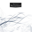 Abstract wavy lines background with grey & white colors, ideal for business, brochure cover designs. - 259920251