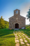 Abbaye Notre-Dame-des-Neiges,Saint-Laurent-les-Bains en Ardèche, Auvergne-Rhône-Alpes.