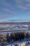 Fototapeta Fototapety na ścianę - Paisaje en Islandia invierno Nevado © José A. Guirado
