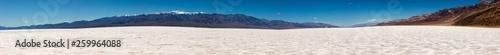 canvas print picture Salt-Desert at Death Valley Bad Water Basin