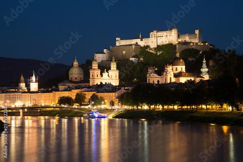 canvas print picture Salzburg