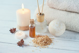 Spa and cosmetic treatment composition