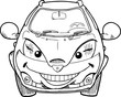 funny cartoon cars - 260011248