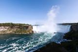 World of wonder Niagara Falls view from the Canada border