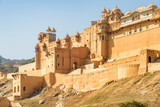 The Amer Fort and Palace in Jaipur, Rajasthan, India