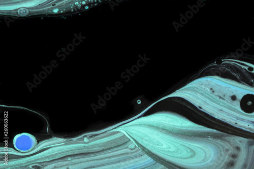 Black and teal abstract background © JKalani