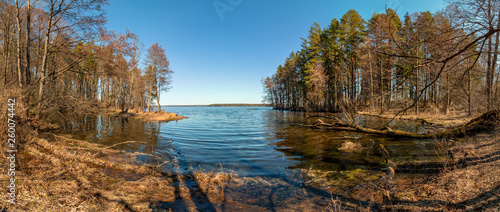 Photo of a reservoir located near the forest - 260074442