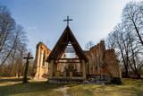 Ruiny kościoła św.Antoniego w Jałówce