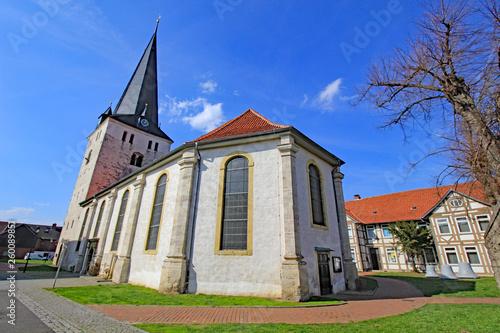 canvas print picture Schöppenstedt: St.-Stephanus-Kirche (12. Jh., Niedersachsen)