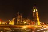 Fototapeta Big Ben - big ben at night © deuxlions