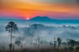 Fototapeta Fototapety na ścianę - sunrise in the mountains © piboon