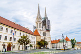 cathedral of zagreb old european gothic church