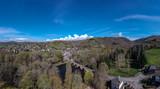 Le Saillant (Corrèze - France) - Vue aérienne du vieux pont sur la Vézère