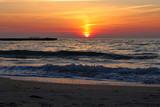 beautiful sunrise on the Black Sea