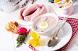 Leinwanddruck Bild - Zurek delicious easter soup after polish style