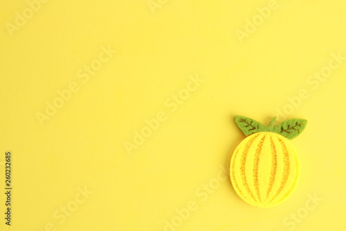 fabric craft with fruit shape © robcartorres