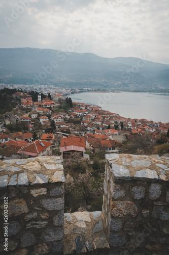 View of Ohrid, Macedonia - 260242652