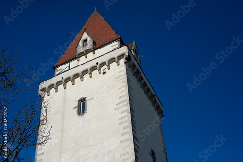 canvas print picture Bergfried, Freistadt