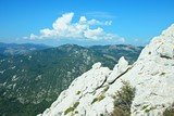 Croatia-outlook from  Kiza in the Velebit National Park