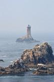 Phare de la pointe du raz, phare de la Vieille, Bretagne, ouest, France