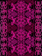 pink and purple decorated vertical pattern - 260282619