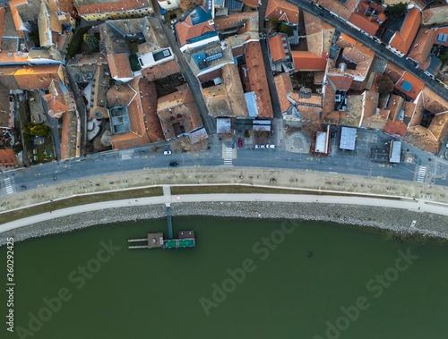 Old town on the riverside - Szentendre, Danube