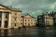 Empty streets in the morning at Dublin Trinity College - 260299824