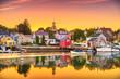Leinwandbild Motiv Portsmouth, New Hampshire, USA townscape