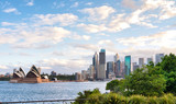 Panoramic view of Sydney skyline at dusk from Kirribilli - 260312660