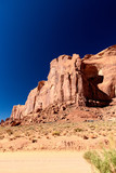 Red rocks of Monument Valley on a clear summer day - 260313243