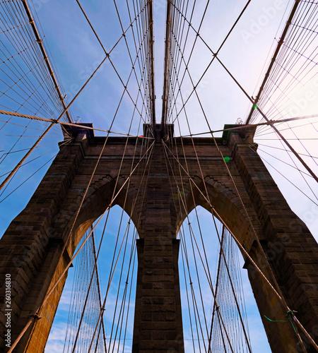 Fototapeten Brooklyn Bridge The Brooklyn Bridge