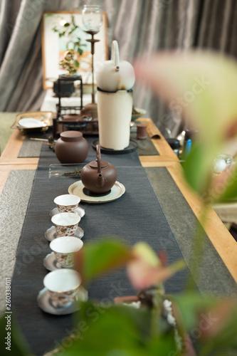 Chinese tea set © potowizard
